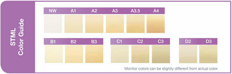 STML Color guide